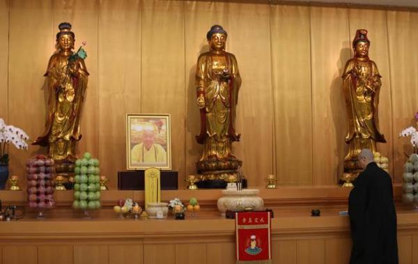 惟觉老和尚圆寂 中台禅寺准备法会