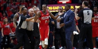 NBA》一眉哥好神!鹈鹕横扫拓荒者抢先晋级 - 中时电子报